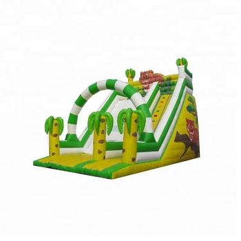 0.55mm PVC commercial Inflatable combo slide