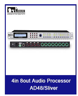 Professional 4 input 8 output digital audio processor sound speaker processor car DSP processor