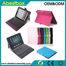 Bluetooth Keyboard Leather Case for iPad 2/3/4 Apple New iPad 3rd 4th 2nd Stand Leather Folio Cover