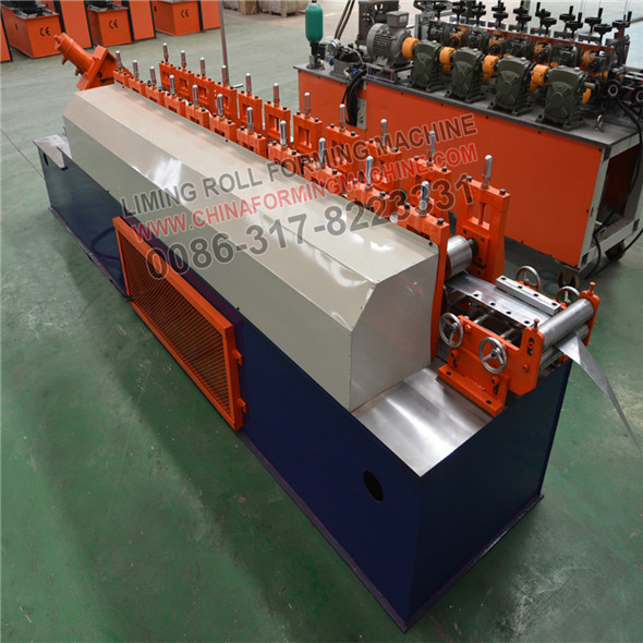 High-class production line of u track construction roll forming machinery