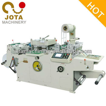 Auto Adhesive Paper Die Cutting Machine