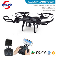 New arrival 4-axis aerocraft 5.8G FPV rc big drone with HD camera and long flying time