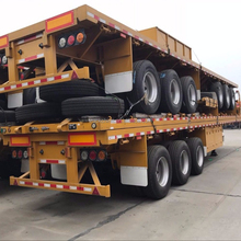 CIMC 40ft Flatbed Container Semi Trailer for sale