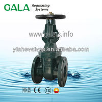 BS/ MSS metal seated long stem sanitary gate valve,ansi gate valve