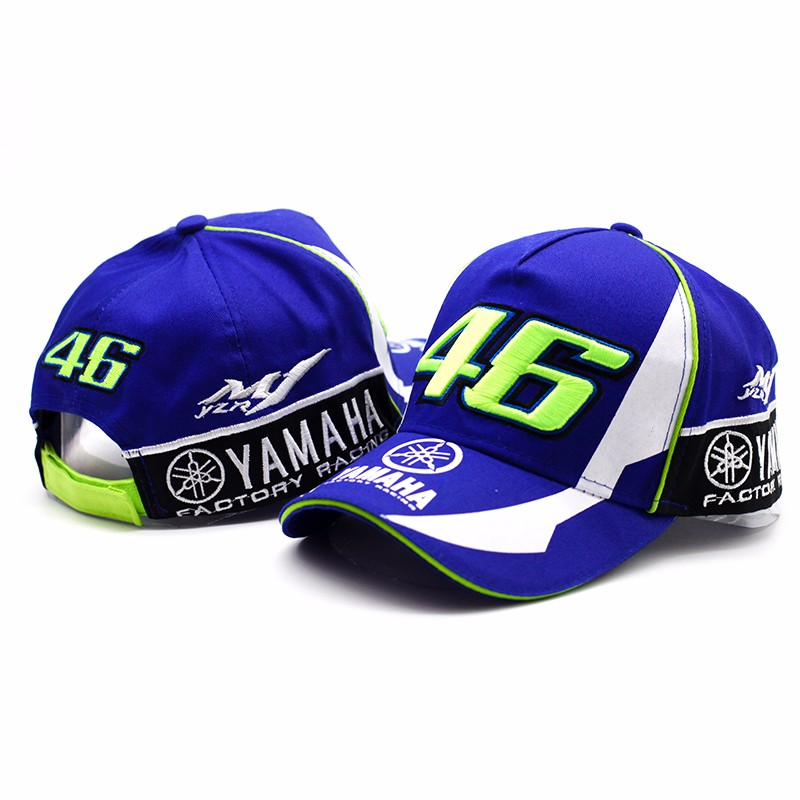 2017 High Quality GP Motorcycle 3D Embroidered F1 Racing Cap Men Women Snapback Caps Rossi VR46 Baseball Cap