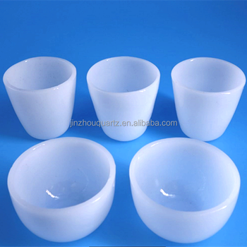 Fused Silica High Purity Quartz Laboratory Crucible