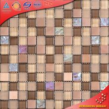 Home interior wallpaper ice cracking glass table mosaic KS246
