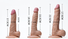 HYM food grade silicion cheap sex dildo for female