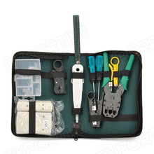 9 in 1 Professional Network Computer Maintenance Repair Tool Kit Toolbox