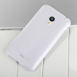 Natural Clear with radian fit tpu back cover case for Meizu Mx4 pro