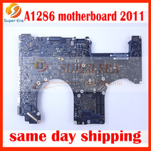 A1286 2011 motherboard for macbook pro 15'' A1286 logic board mainboard 2011year new original
