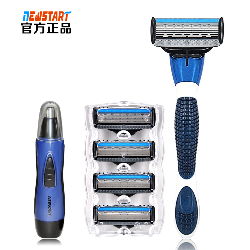 Wholesale man safety manual high quality 5 blades shaving razor