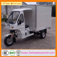 China lifan 200cc closed cabin cargo tricycle for disabled,three wheelcargo tricycle with cabin,van cargo tricycle