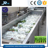 2015 China professional stainless steel 304 machine for fruit and vegetable washing and drying