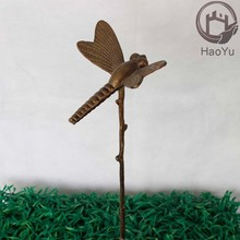 cast iron metal garden ornament for flower receptacle