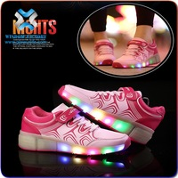 christmas USB Charging Basket Led Children Shoes With Light Up Kids Casual Boys Girls led shoes,kids led shoes