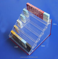 Acrylic Smoke/Cigarette Display Stand/Rack for Convenience stores or supermarkets