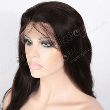 natural black remy hair african american lacefront wigs
