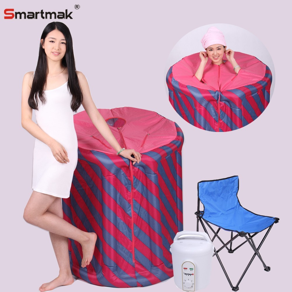 Wet mini portable steam sauna