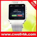 Low cost China touch screen mobile watch phone PS-TW120 Single SIM 1.3MP Camera Bluetooth