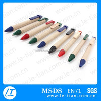 LT-Y525 eco friendly recycled paper pen