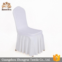 2017 Wholesale Spandex Wedding Chair Cover