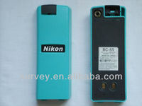 Compatible nimh rechargeable battery BC-65 blue cells for nikon total station