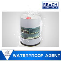 WP1321 Transparent sea water proof antifreezing solvent based waterproofing compound chemicals for concrete