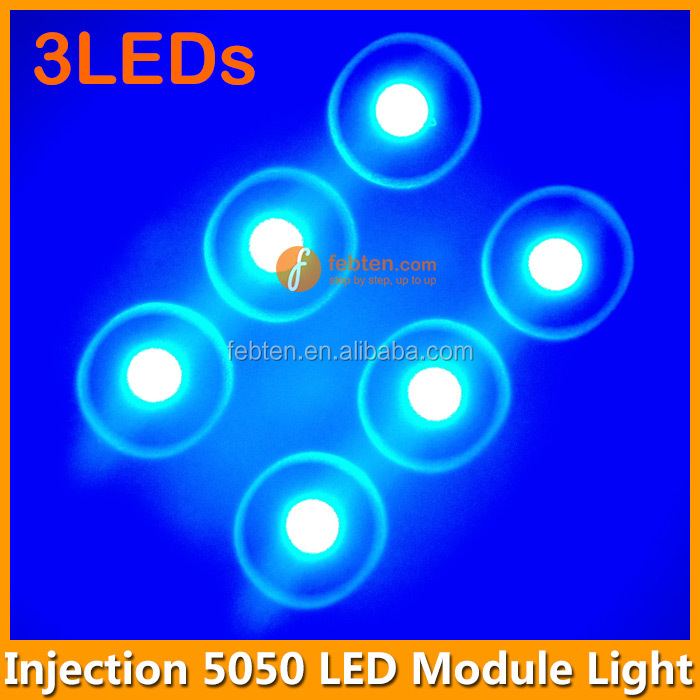 SMD5050 3pcs smd injection 5050 RGBW LED Module for Advertising