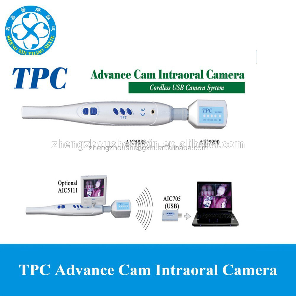 TPC Advance Cam Cordless USB Camera System Dental Intraoral Camera