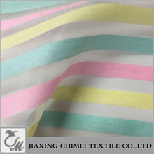 rainbow organza for baby cloth