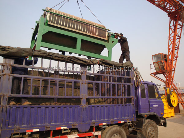 HUAHONG High gradient drum type dry magnetic separator for iron ore