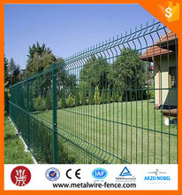 2016 Shengxin direct triangle bending home/garden mesh fence