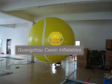 pvc inflatable big tennis ball balloon for sale