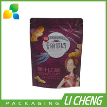 New product custom printing stand up pouch brown sugar packing bag