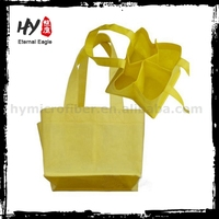 High quality custom pp non woven bag, recycling nonwoven shop bag, nonwoven fabric polyester foldable shopping bag