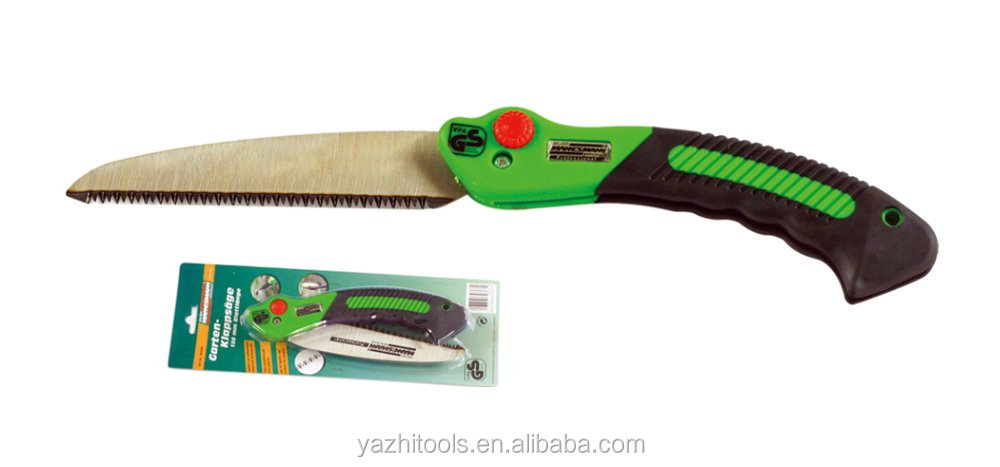 180mm 65MN/SK5 blade triple sharpen teeth ABS+sft TPR folding saw