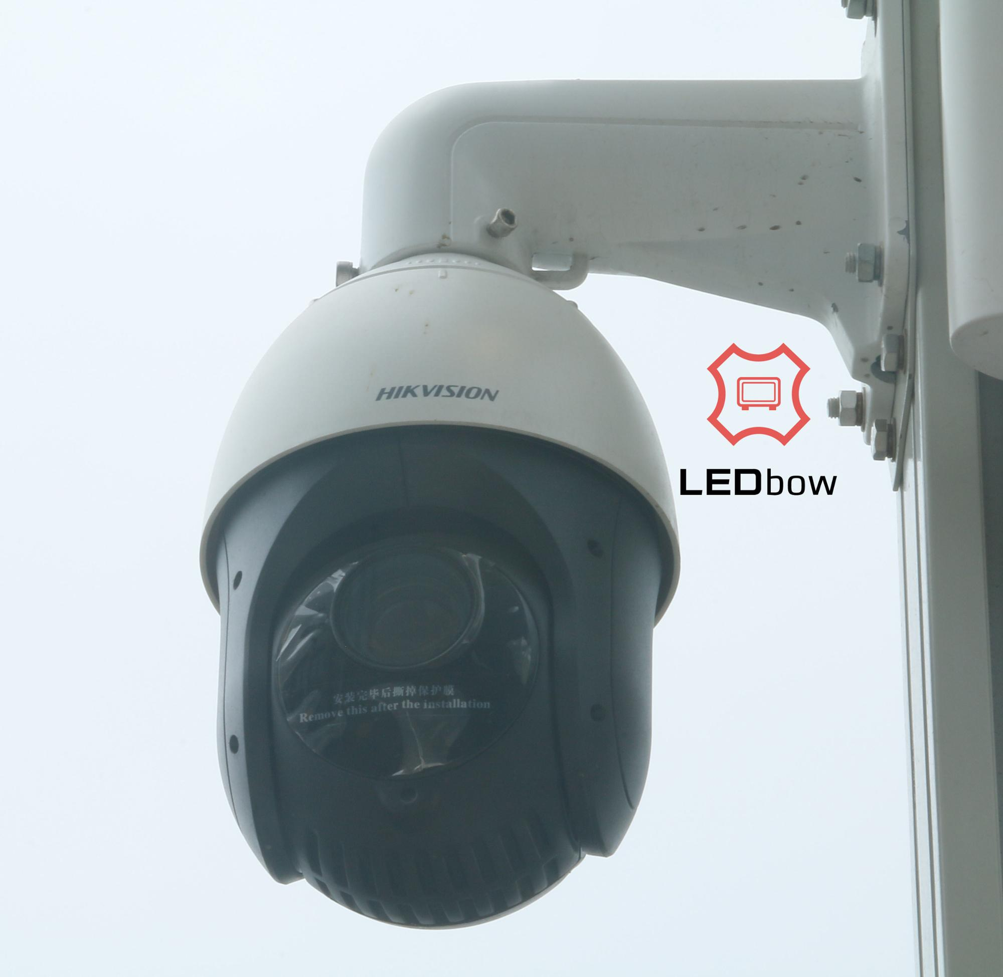 LEDbow All-weather Multi-function Integrated Smart Pole with Intelligent Cloud System Control