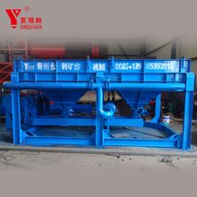 pulsating jigging machine/jigger for gold and diamond equipment