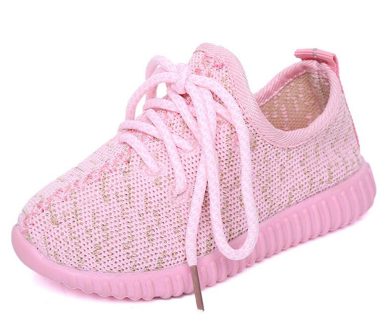 High quality children casual lace up baby sneakers kids yezi <strong>shoes</strong>