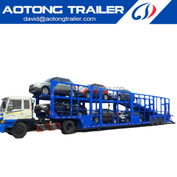 The car carrier and transport semi trailer for truck of China truck chassis manufacturer on sale Dai