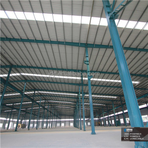 pre-made steel structure rubber making factory construction