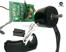 6374 bldc motors and 6s-12s 50A controller&2.4g remote for electric skateboard