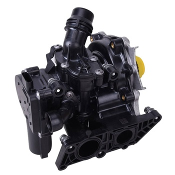 Auto Parts Thermostat Water Pump Assembly 06L121111H 06K121009J For VW Golf Audi A3 A4