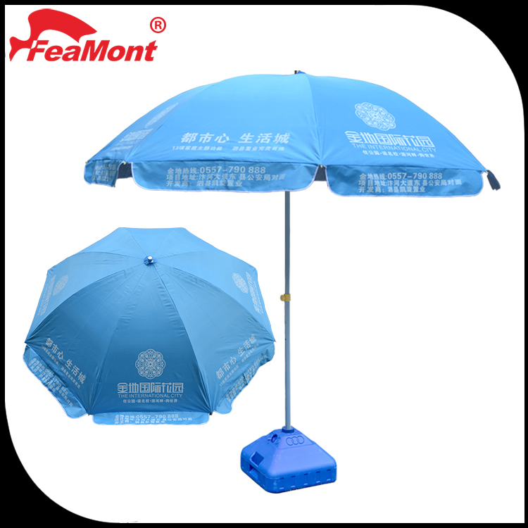 custom print 100inch 8 Rib 210D Oxford Fabric advertising umbrellas