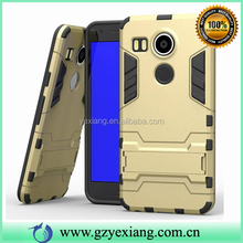 Cheap Price TPU PC Rugged Hybrid Armor Case For Google Nexus 6P Cover