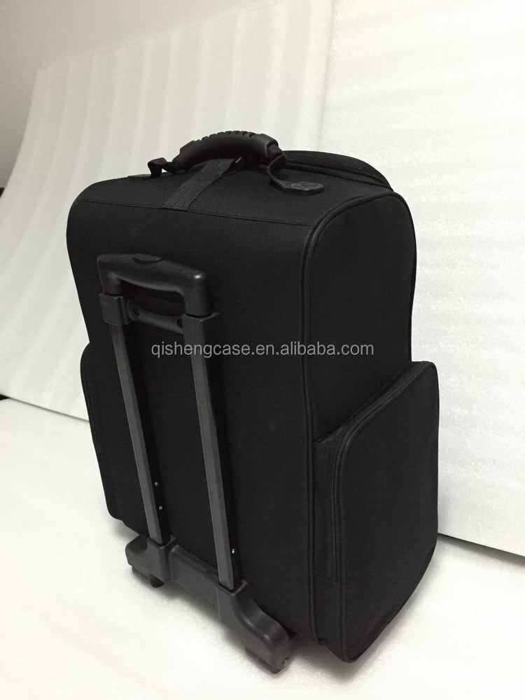 New coming hanging cosmetic cases bulk cosmetic trolley case low moq cheap soft cosmetic makeup case