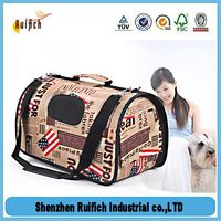 Top quality travel dog carrier bag on wheels,tote pet duffel bag,pet carriers