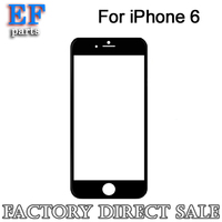 wholesale front glass lens for iphone 4 4s 5 5s 5c 6 6 plus replacement factory supply
