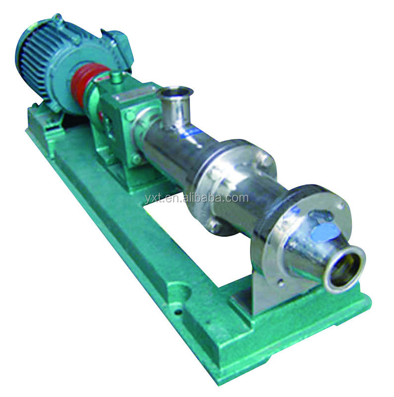 G variable capacity screw pump